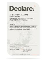 Air-Bloc® All Weather STPE™ Declare Label